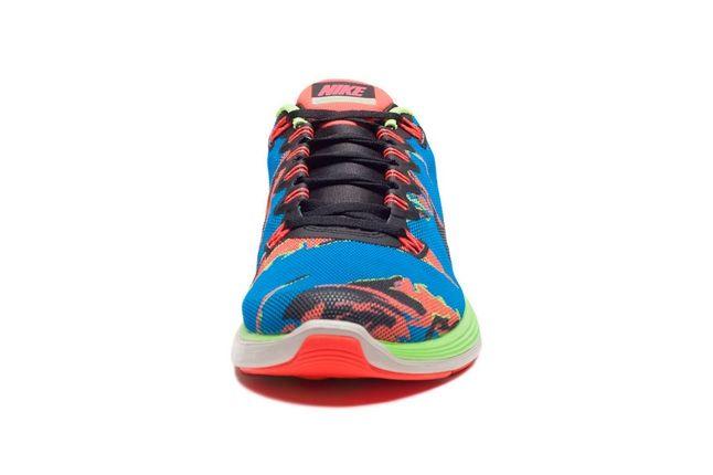 Nike Lunarglide5 Tiger Reef Toe Profile