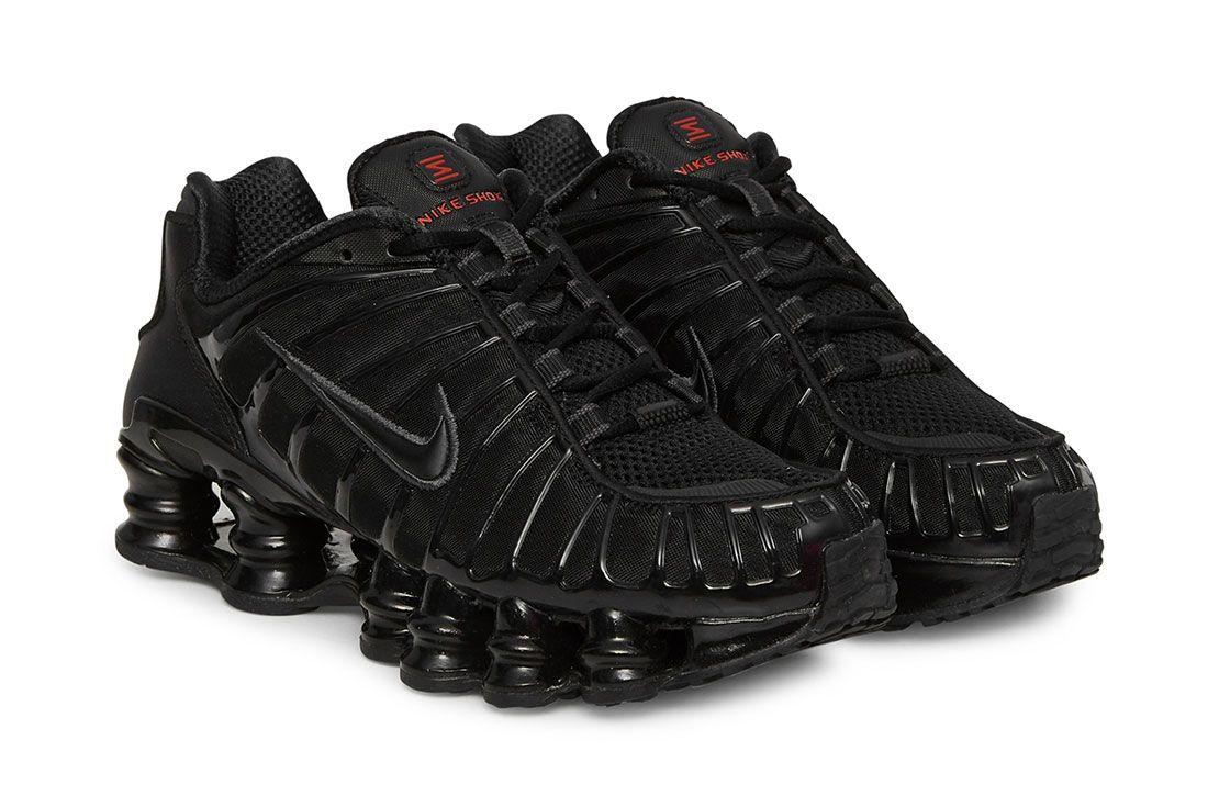 Back To School Triple Black Sneakers