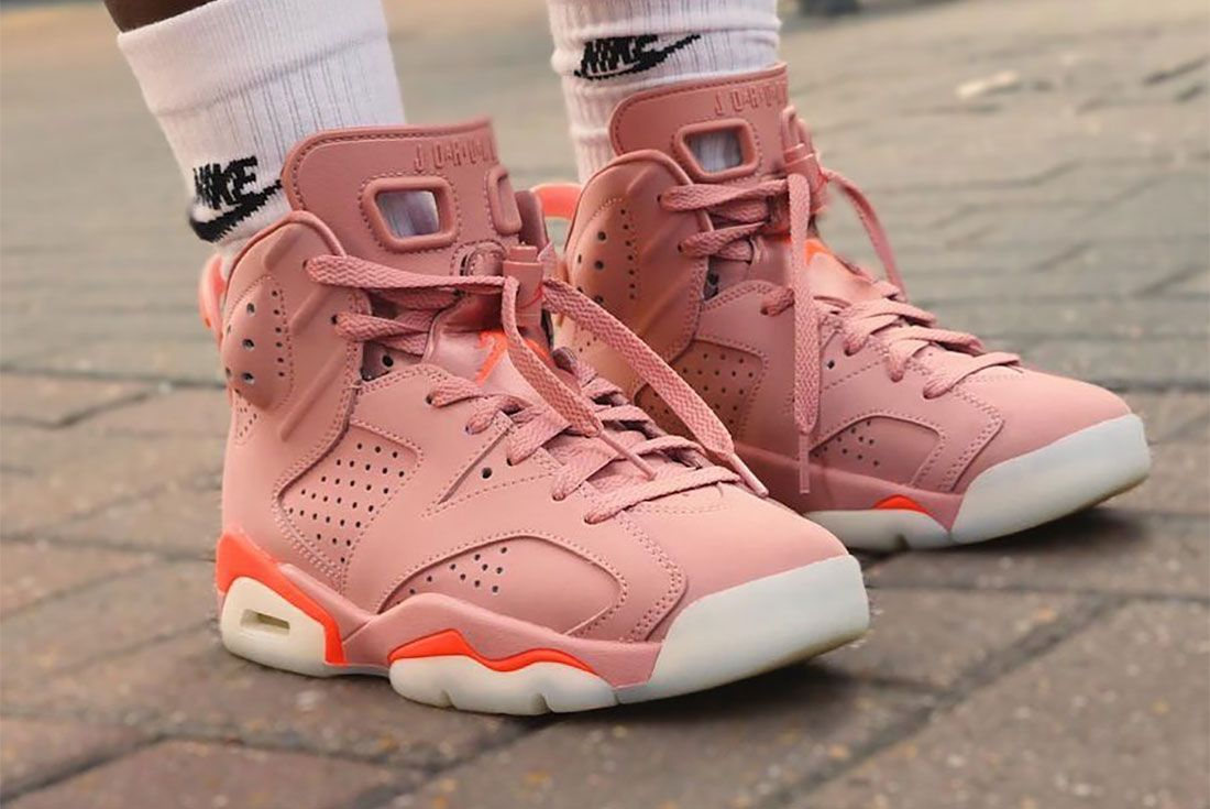 Nike Female Sneakers Air Jordan 6 Shan