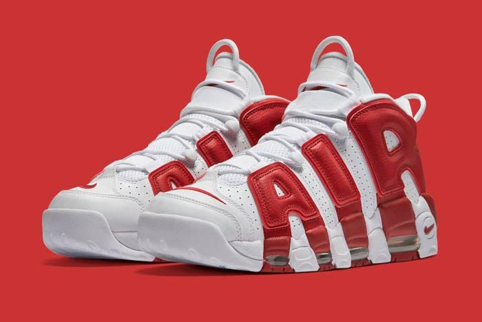 Nike Air Uptempo Red 3