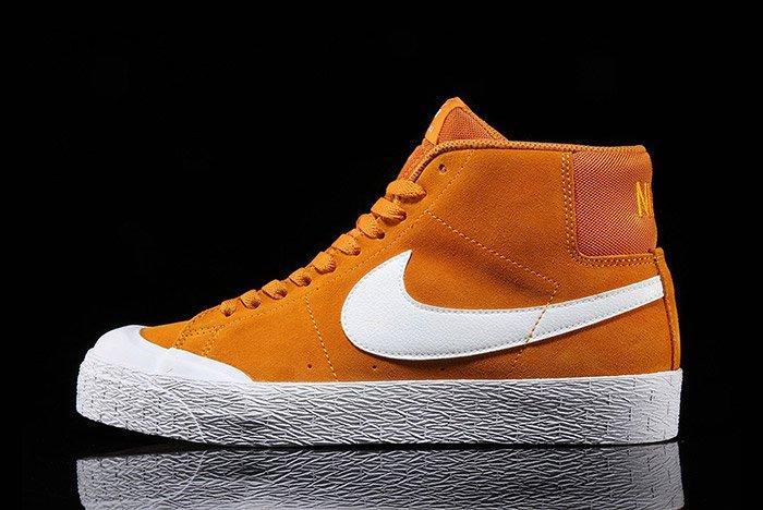 Nike Sb Blazer Circuit Orange 5