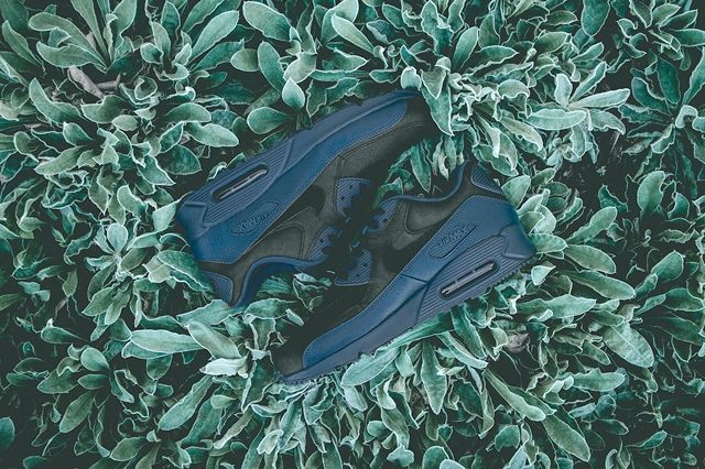 Nike Am90 Squadron Blue Black 3