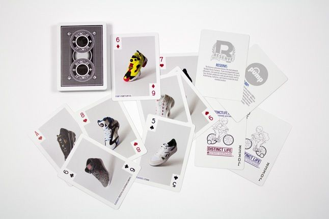 Distinct Life Bicycle Reebok Classic Playing Cards 2