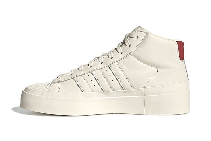 Fourtwofour Adidas White High Left Side