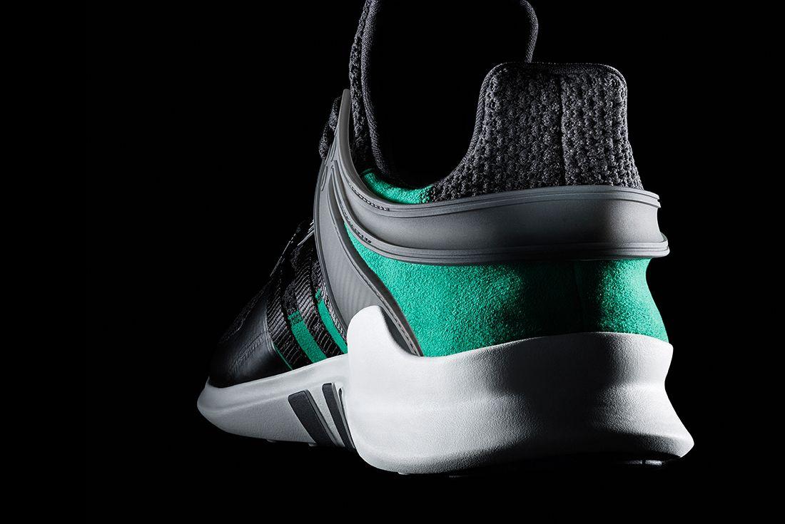 Adidas Eqt Adv Support Blacksub Green5