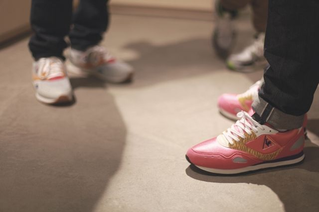Le Coq Sportif Crooked Tongues Launch 5