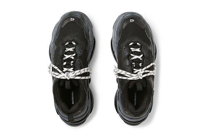 Balenciaga Triple S Sneakers White Ecru Grailed