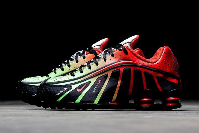 Nike Shox R4 Neymar Red Left