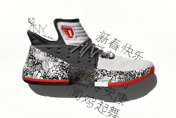 Adidas Dame 3 Chinese New Year