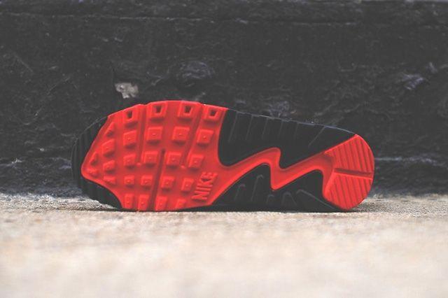 Nike Air Max 90 White Red Black 6