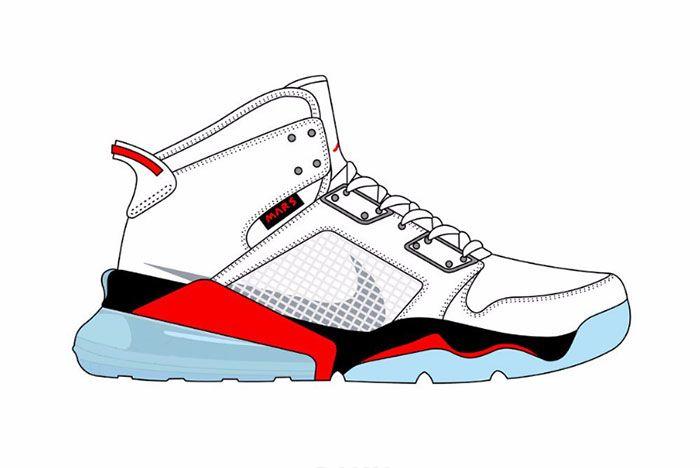 Jordan Mars 270 White Py Rates