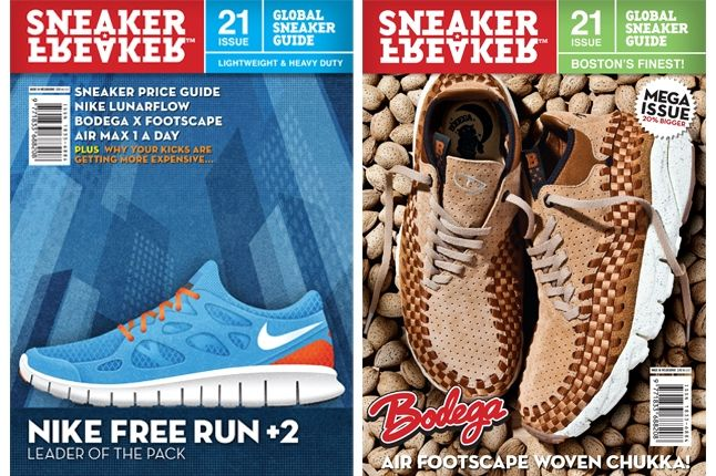 Sneaker Freaker Issue 21 Covers 1