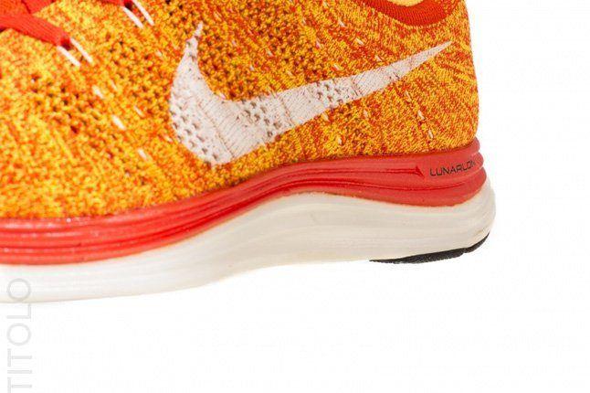 Nike Flyknit Lunar 1 Team Orange 2