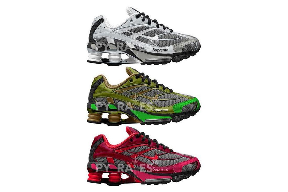 Supreme x Nike Shoe Ride 2