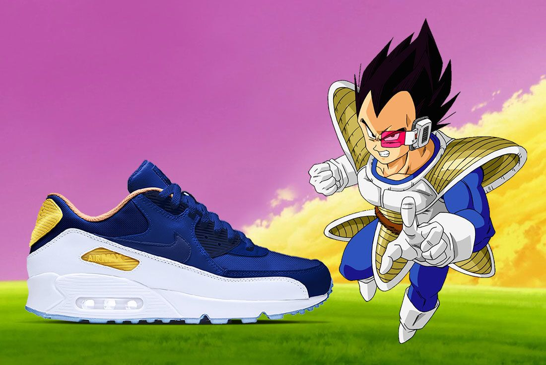 Nike X Dragon Ball Z Air Max 90 Vegeta Hero