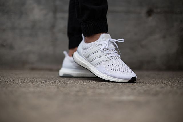 Adidas Ultra Boost White Black 2