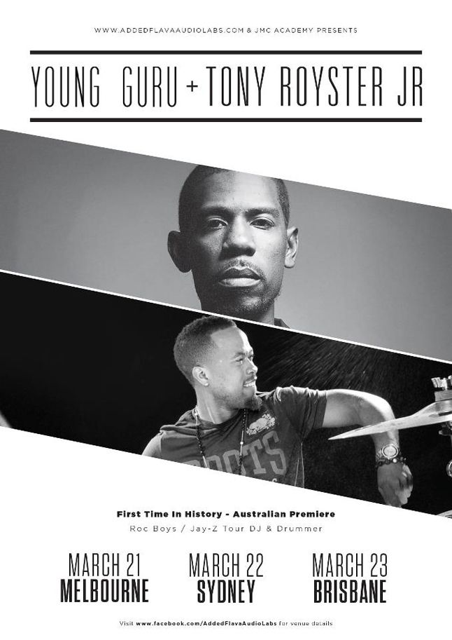 Tony Royster Young Guru Poster 1