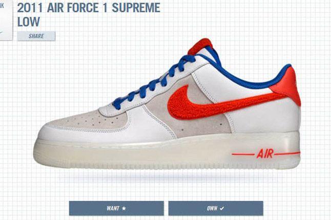 1Thology Leaderboard Air Force 1 Supreme Low Nike 1