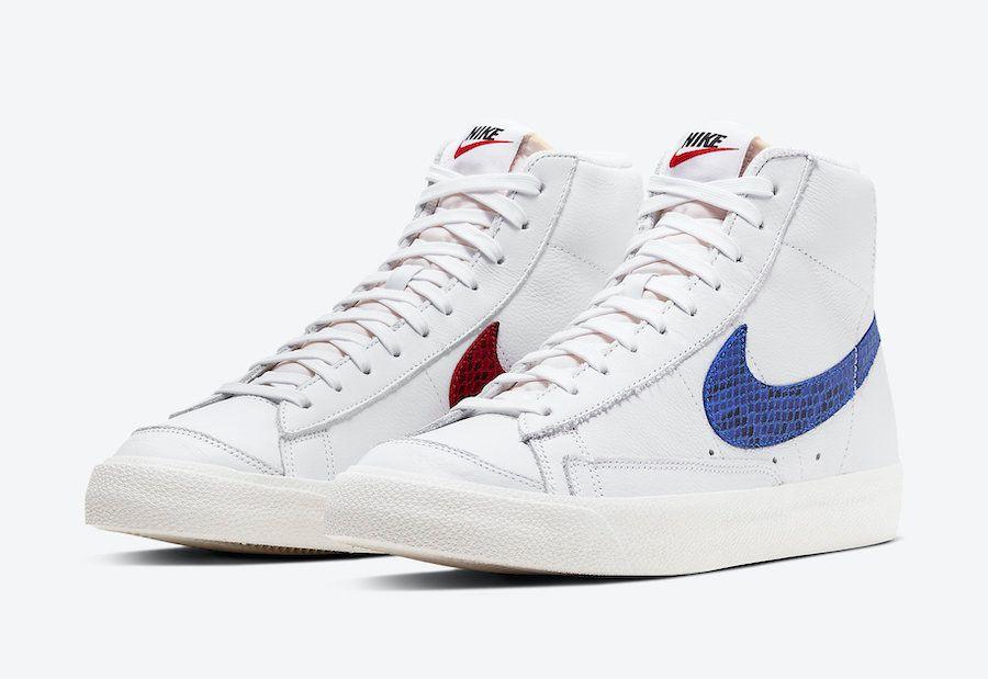 Nike Blazer Snakeskin Swoosh Angled