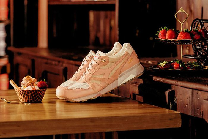 Feature Diadora N9000 Strawberry Gelato 1