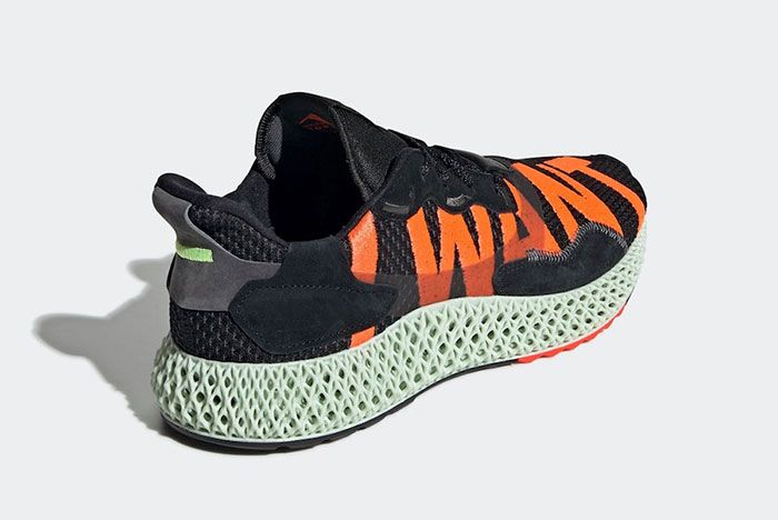 Adidas Zx 4000 4 D I Want I Can Black Ef9625 Release Date 4 Angle