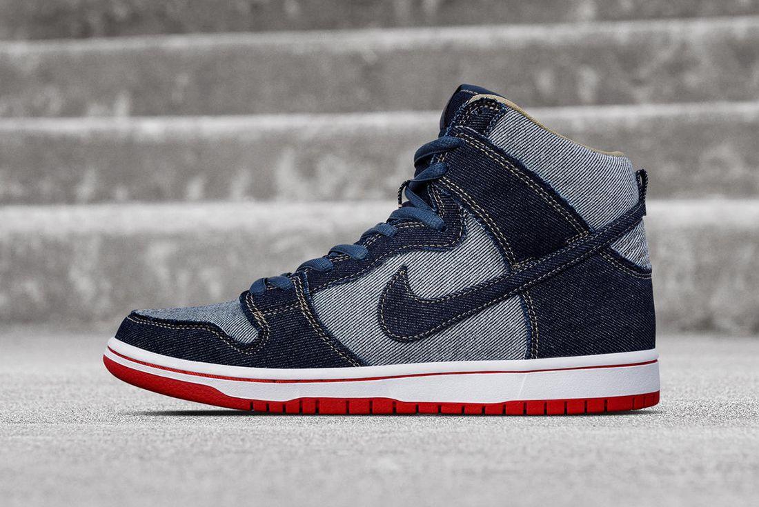 Nike Sb Dunk High Denim12