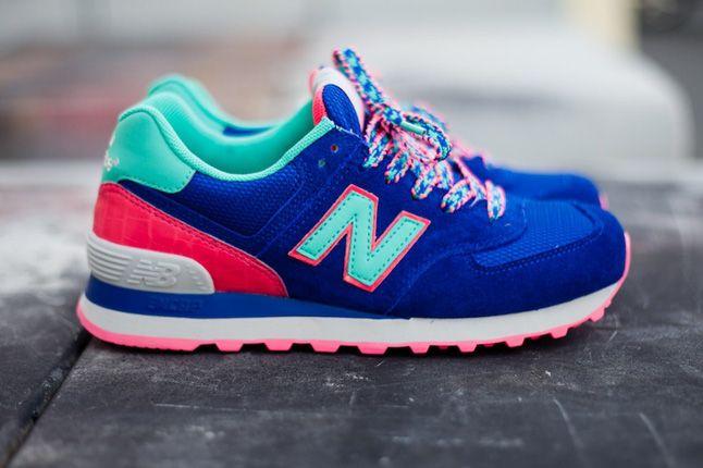 New Balance 574 Blue Candy Profile 1