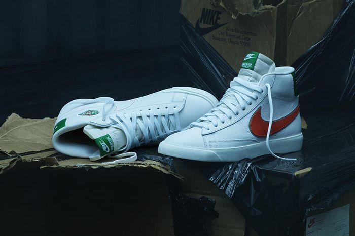 Stranger Things Nike Blazer Hawkins High Pack Release Date Pair