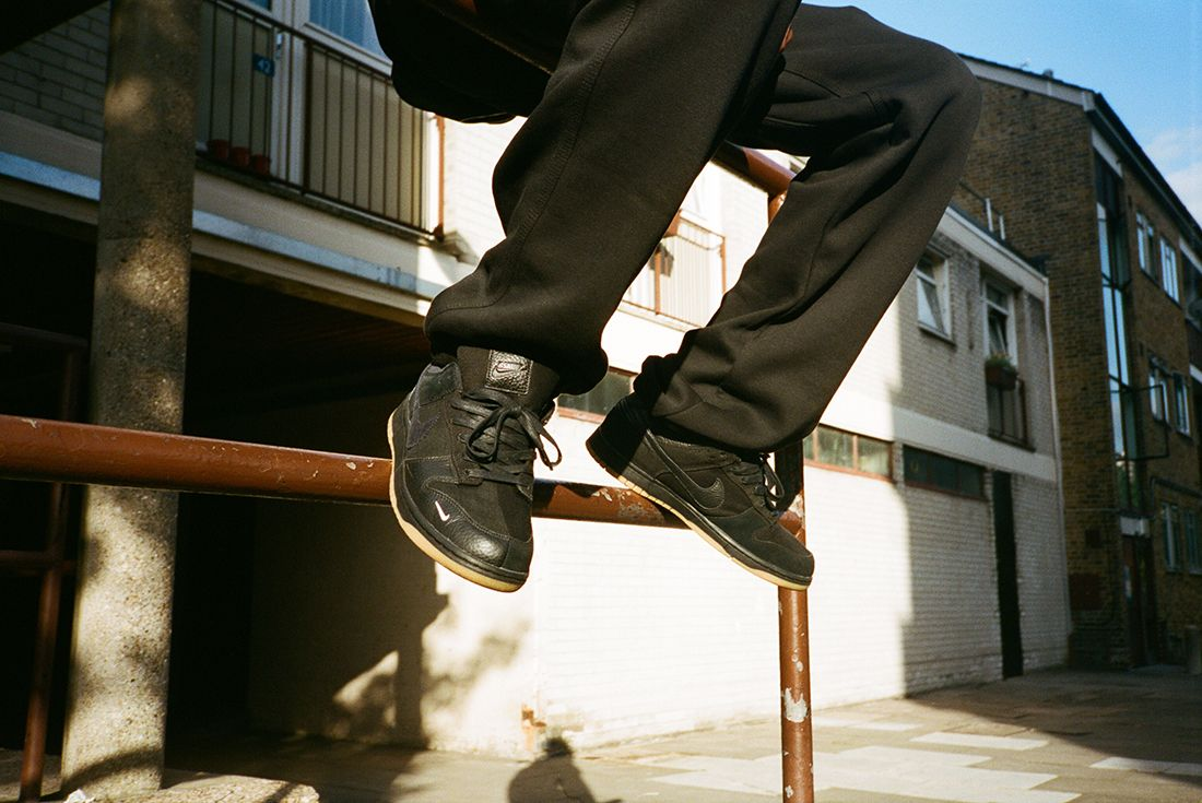 The Basement X Nike Dunk4