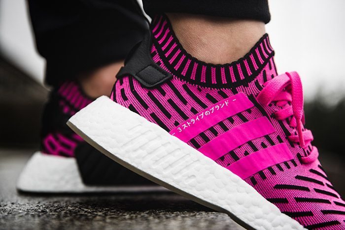 Adidas Nmd R2 Shock Pink 3