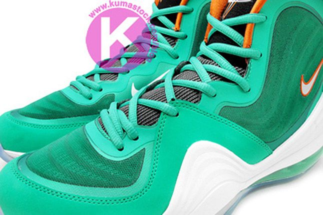 Nike Air Penny 5 Miami Dolphins 04 1