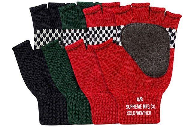 Supreme Fingerless Gloves 1