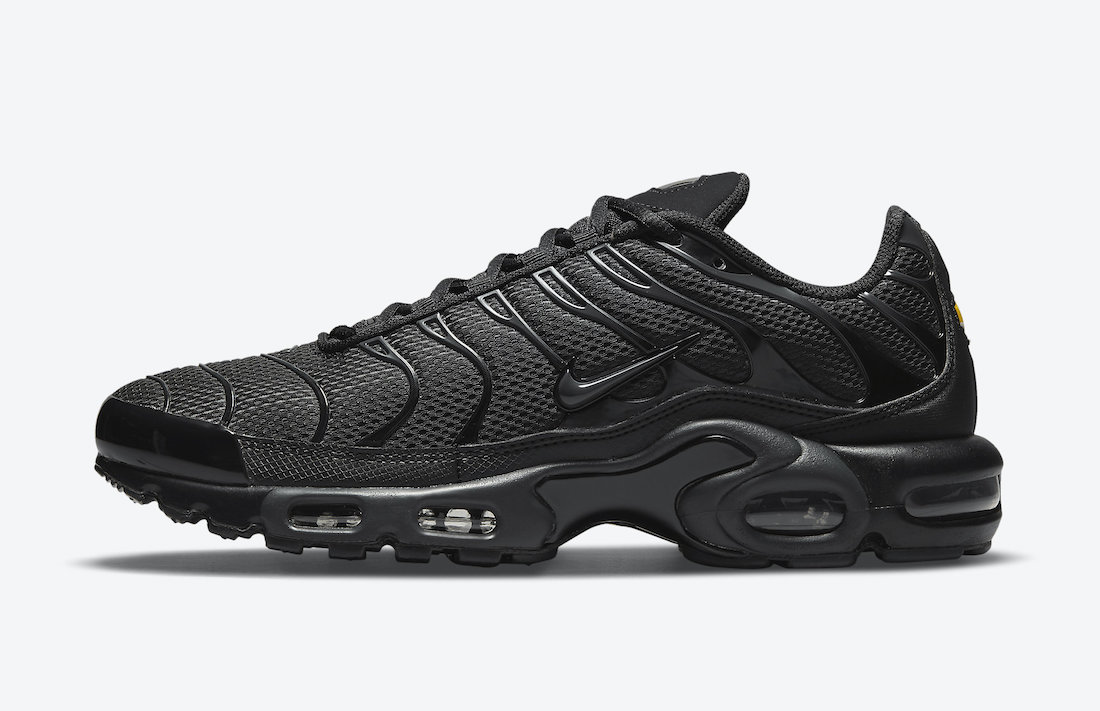 This 'Triple Black' Nike Air Max Plus Isn't Like the Other Ones