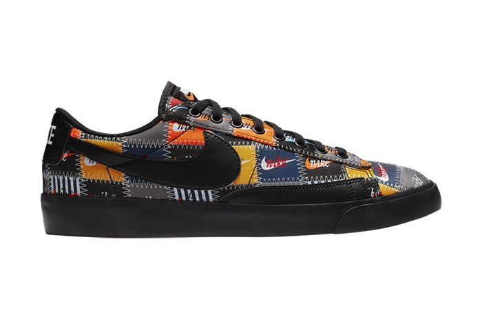Nike Blazer Low Patchwork Ci9888 001 Release Date Lateral