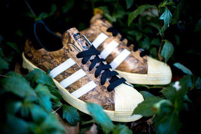 Adidas Superstar 80S Woodland Camo 4