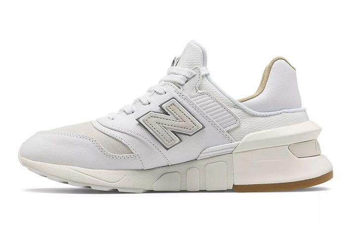 New Balance 997S Saffiano White Medial