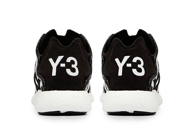 Y 3 Yohji Boost Black And White 4