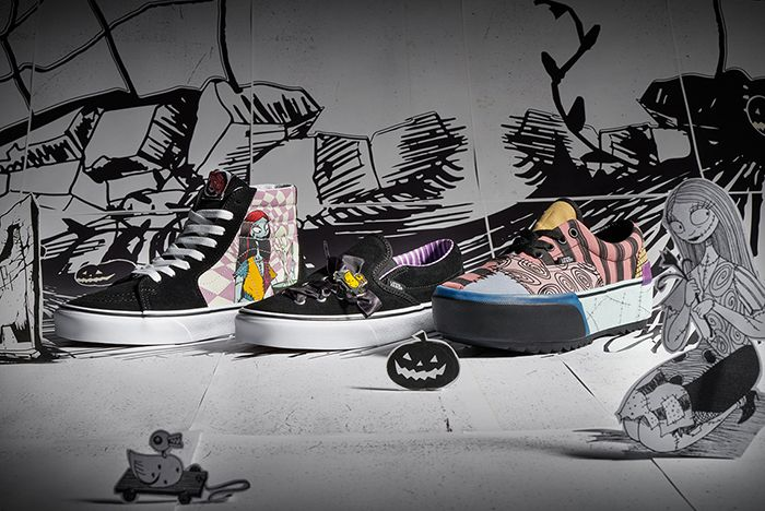 Vans Nightmare Before Christmas Kids Lifestyle Shot