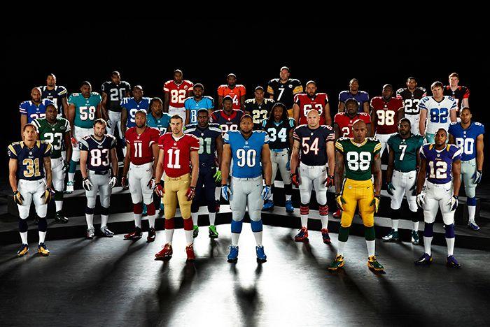Nike Nfl 2012 Team Uniforms 03 Apr Original