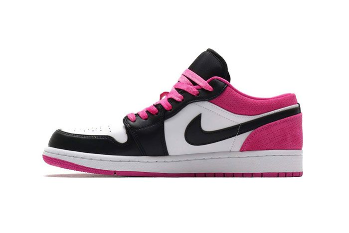 Air Jordan 1 Low Active Fuchsia Left
