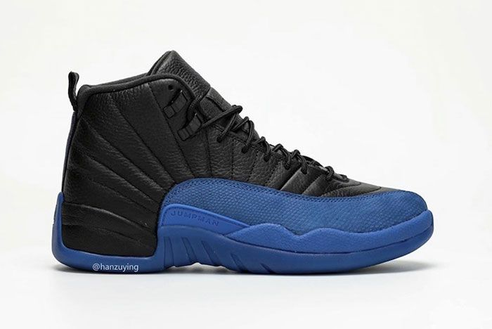 Air Jordan 12 Black Game Royal 130690 014 2019 Release Date 2 1 Side