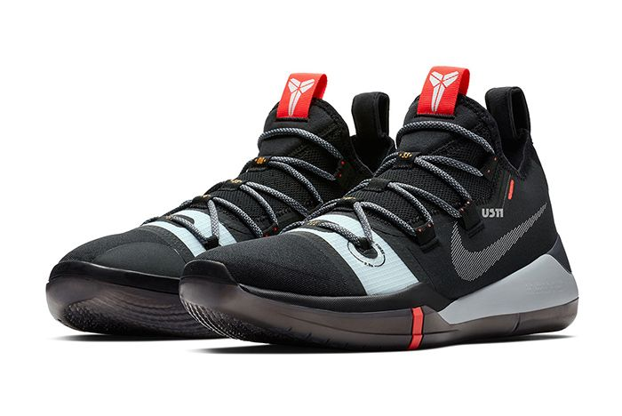 Nike Kobe Ad New Black Grey 1
