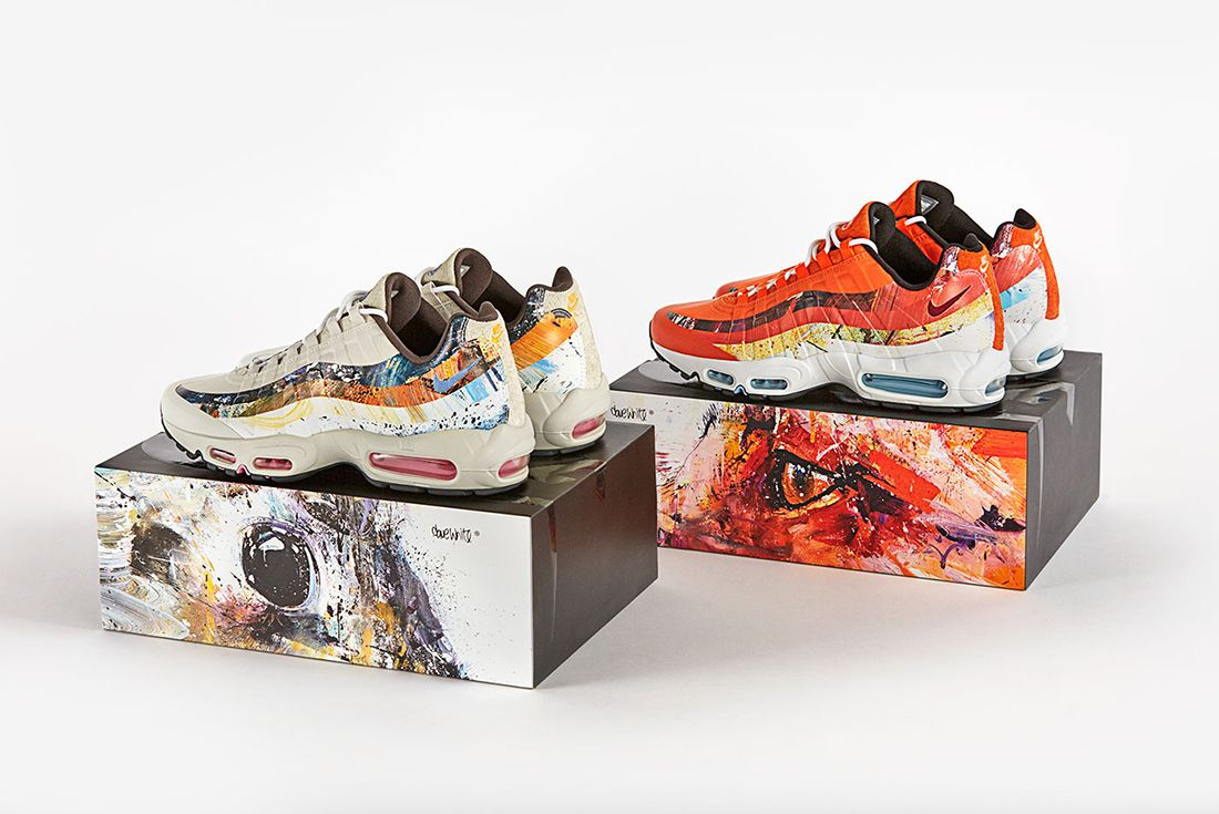 Size X Dave White X Nike Air Max 95 Collection 10