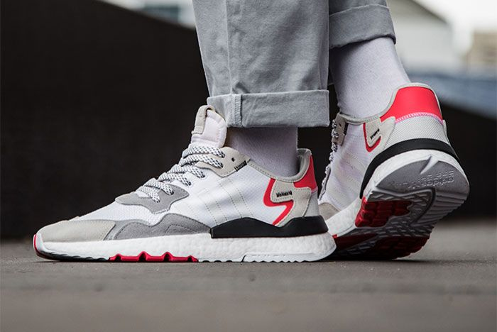 Adidas Nite Jogger Grey Red