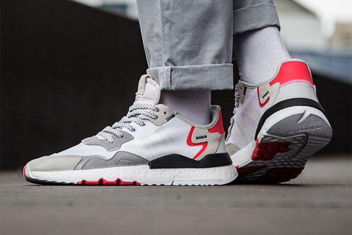 Adidas Nite Jogger Grey Red