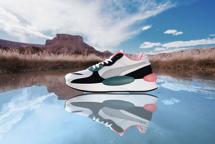 Puma Rs98 Teal Lateral