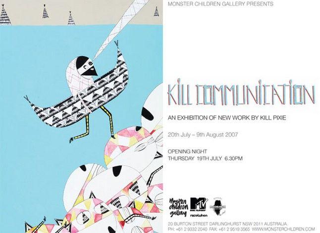 Kill Communication Exhibition Sydney 1