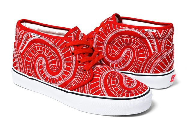 Vans Supreme Chukka Ss 2014 Red Perspective