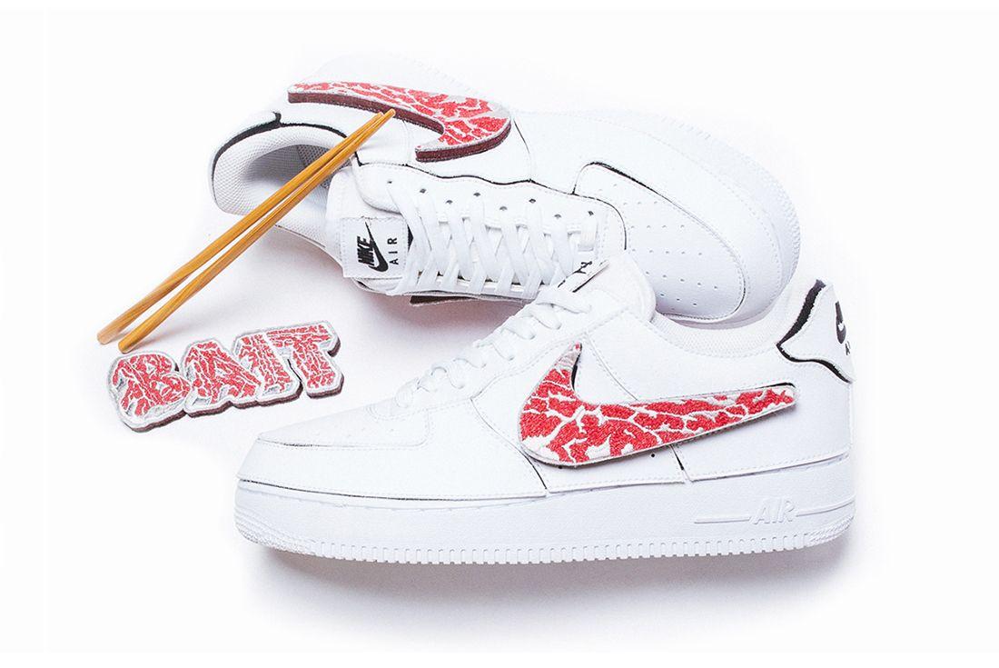 "BAIT x Nike Air Force 1 ""A5 Wagyu"" tokyo comic con"