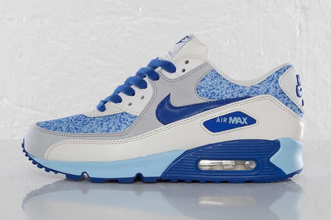 Nike Air Max 90 Wmns Hyper Blue Side 1